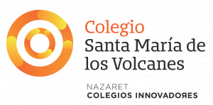 Colegio Santa María de los Volcanes Logo