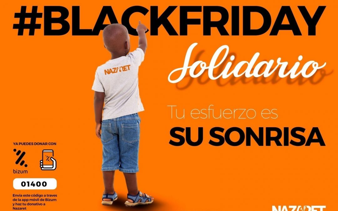 #BlackFriday Solidario