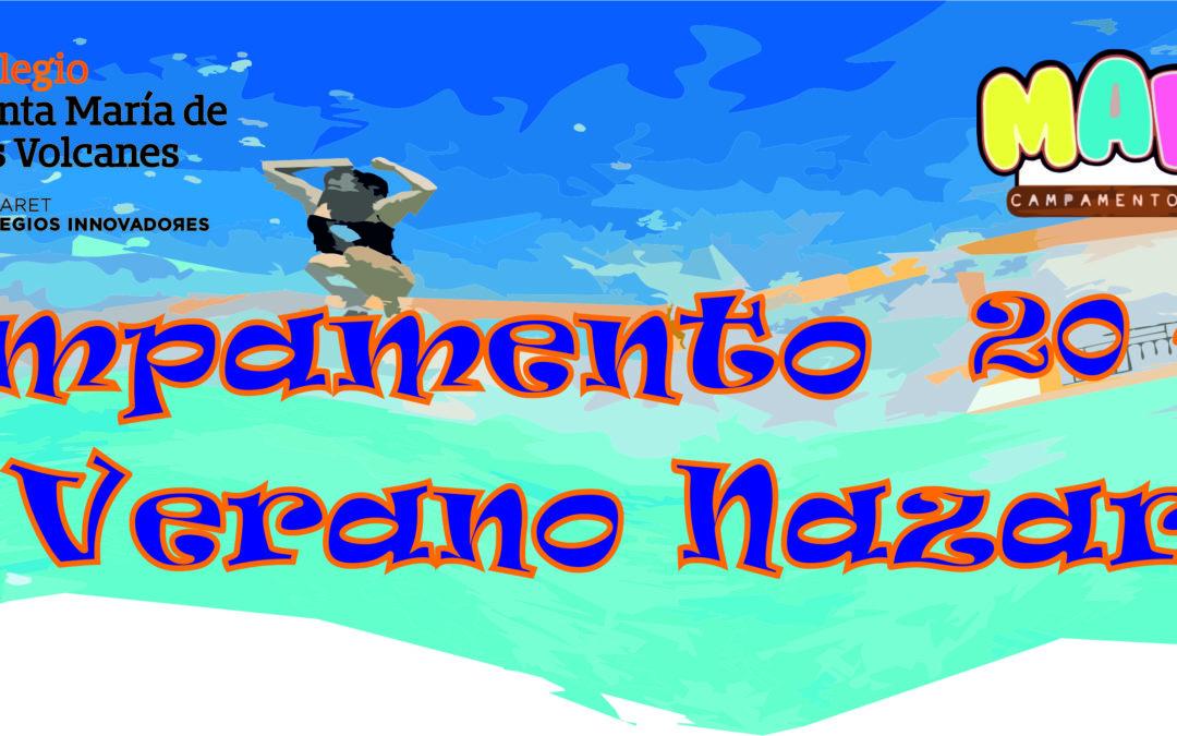 Campamento 20-21 de verano Nazaret